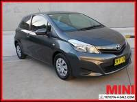 2011 Toyota Yaris NCP130R YR Hatchback 3dr Man 5sp, 1.3i [Nov] Grey Manual M